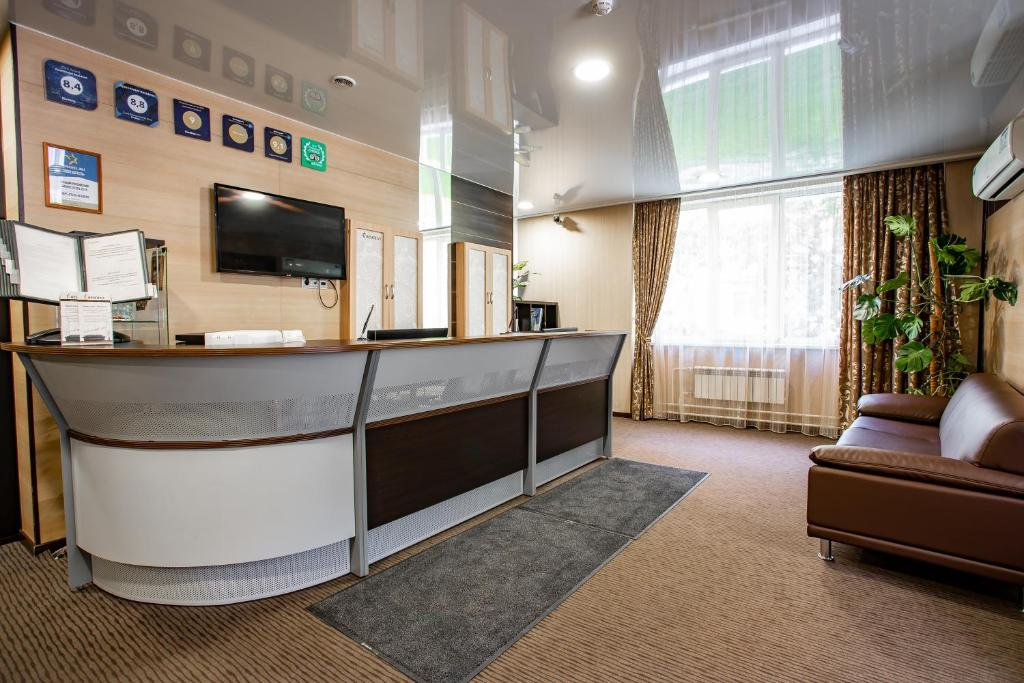 The lobby or reception area at Apart-Hotel Resident