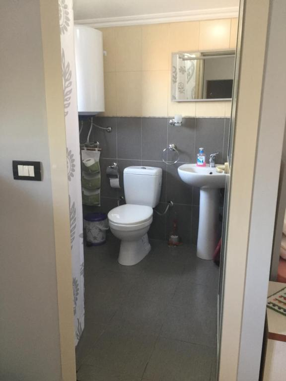 A bathroom at Lille France Apartments