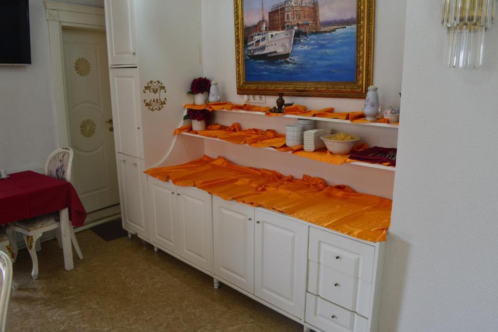 Ванная комната в Gulhane Garden Hotel