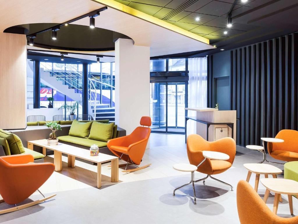 O lounge ou bar de Novotel Tours Centre Gare