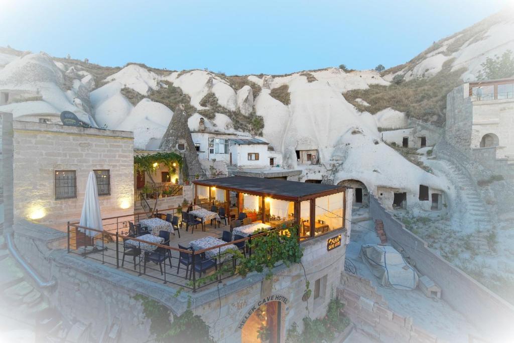 Melek Cave Hotel зимой
