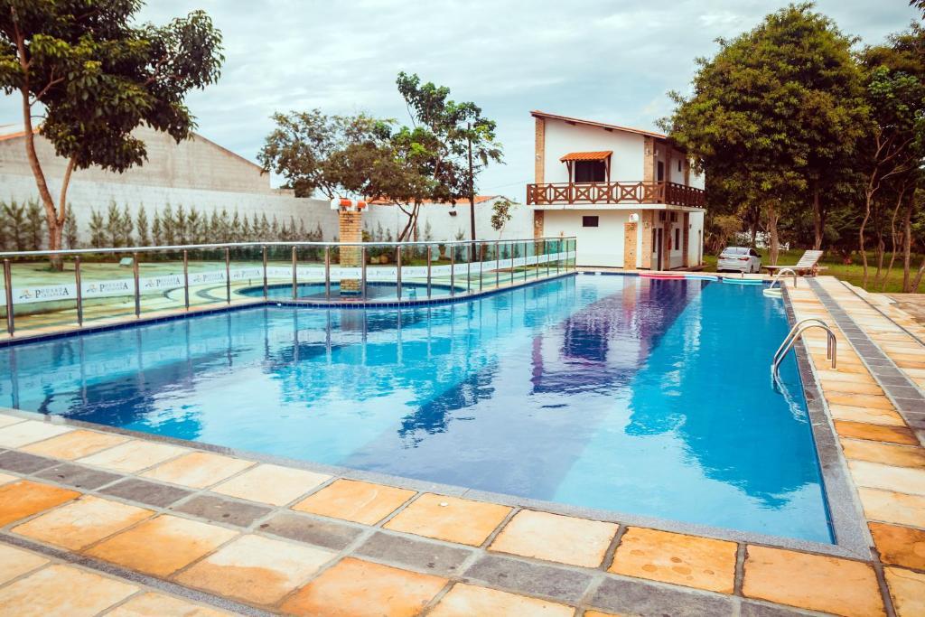 The swimming pool at or close to Pousada Ibiapaba