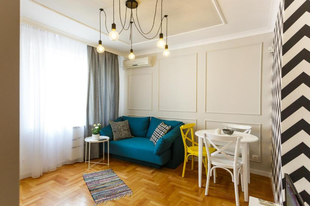 אזור ישיבה ב-Dunav Aparthotel Residence