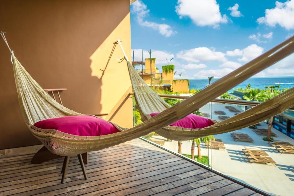 Un balcón o terraza de Hotel Xcaret Mexico - All Parks & Tours / All Inclusive