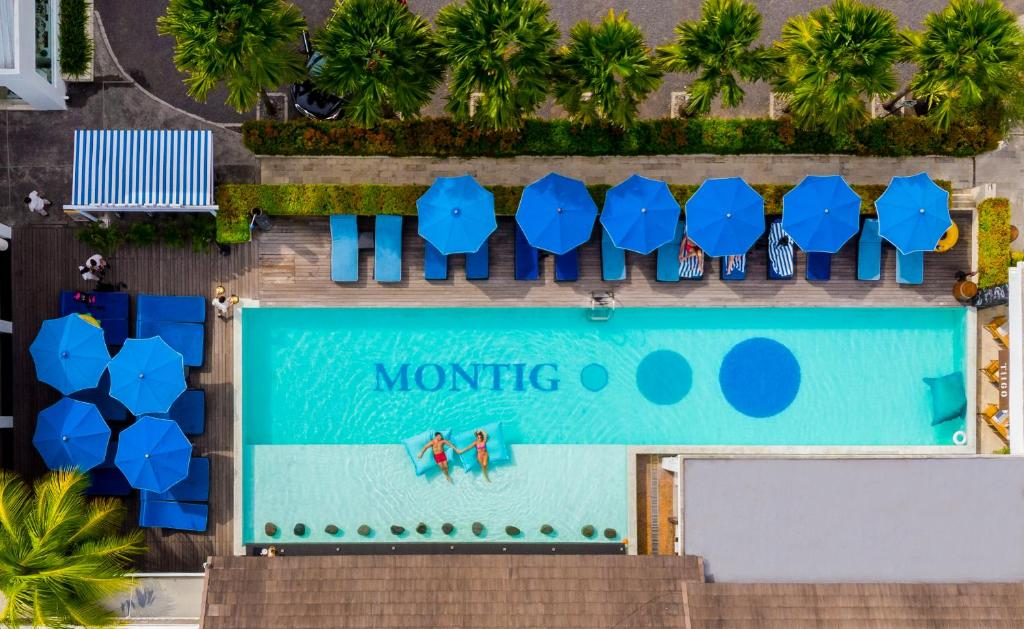 A view of the pool at Montigo Resorts Seminyak or nearby