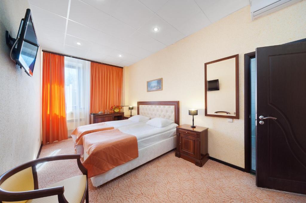 Стандартный двухместный номер с 2 отдельными кроватями: фотография номер 3