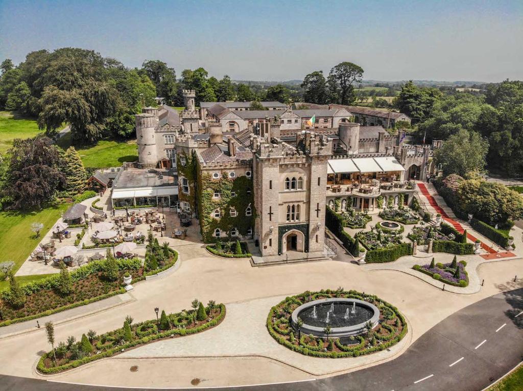 A bird's-eye view of Cabra Castle Hotel
