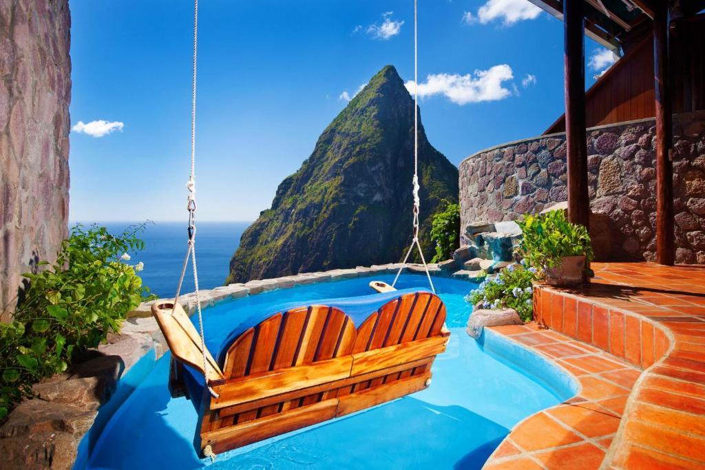 Risultati immagini per Ladera Resort, St. Lucia