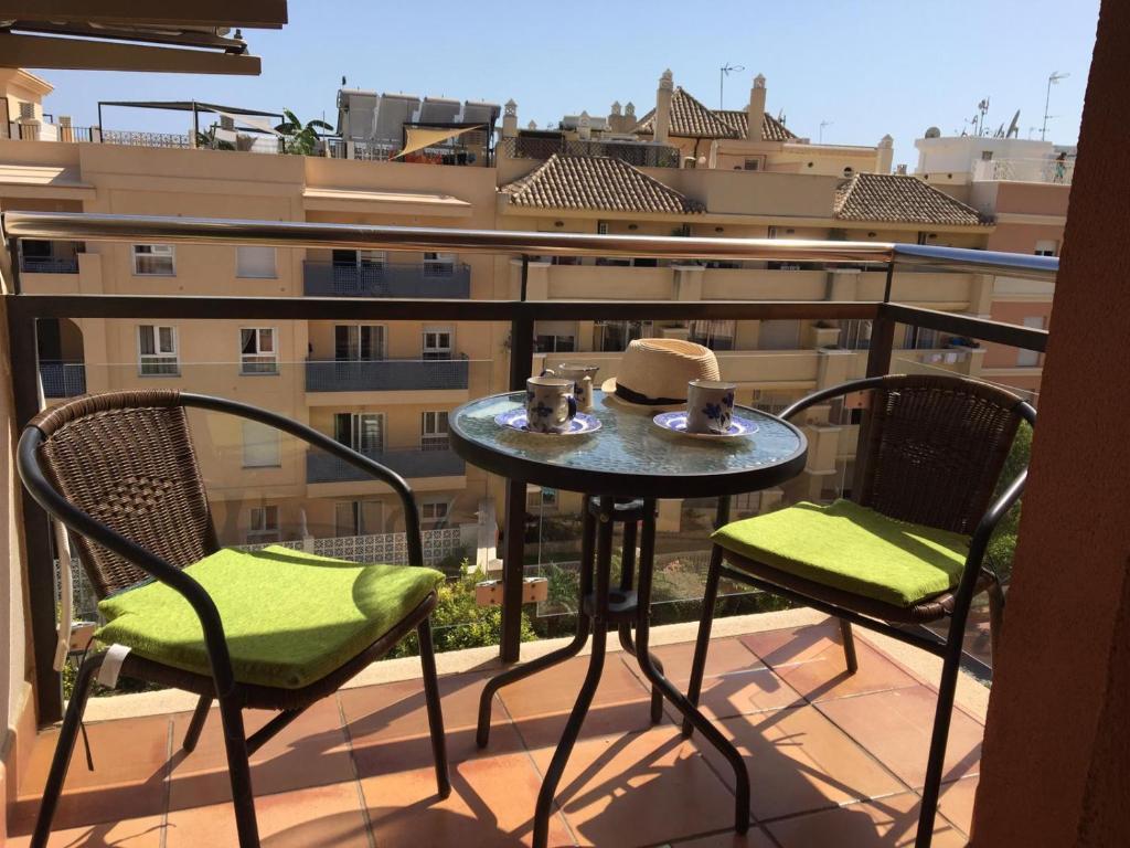 Un balcón o terraza de Apartamento Calma