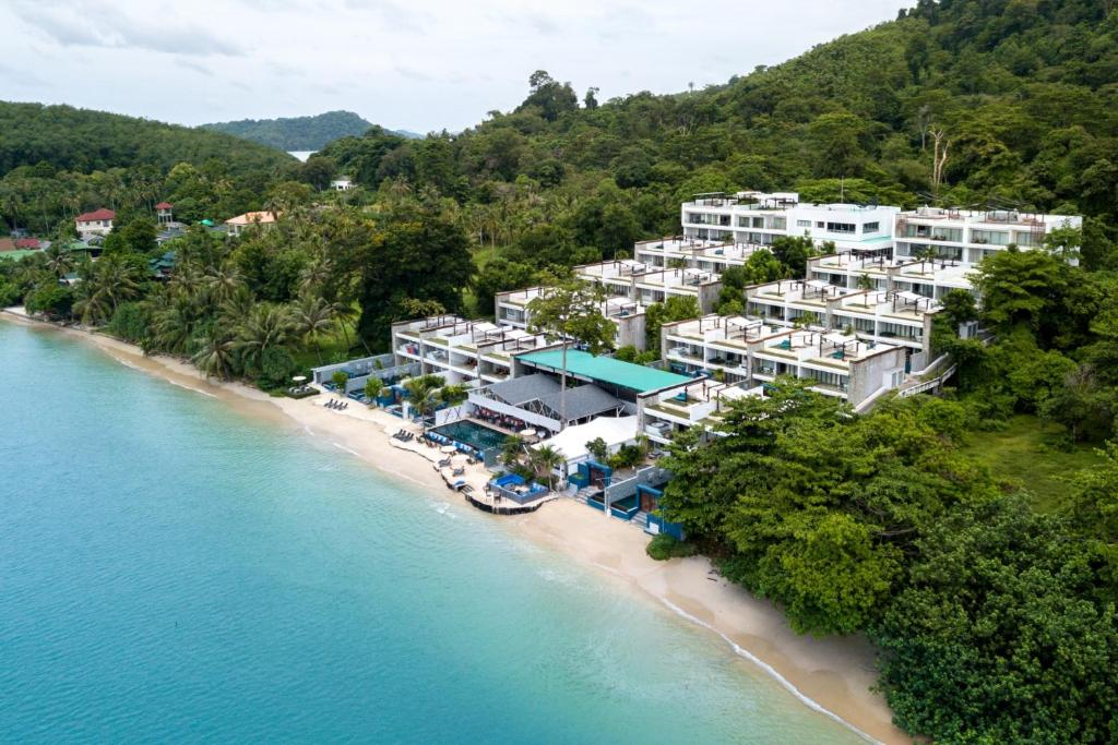 A bird's-eye view of The Nchantra Pool Suite Phuket