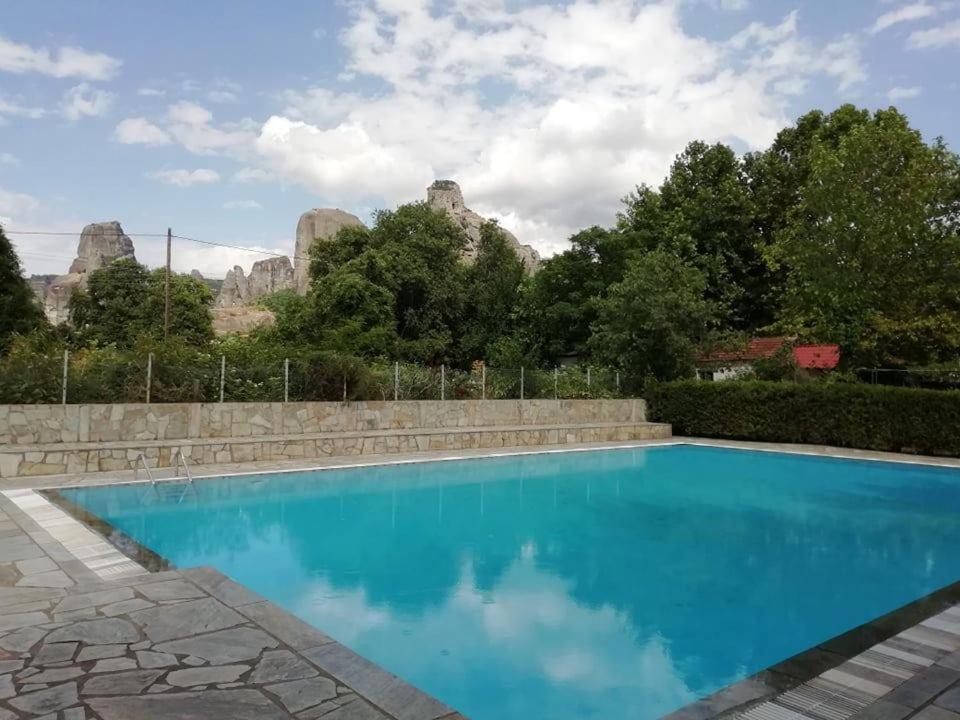 Πισίνα στο ή κοντά στο Meteora Garden