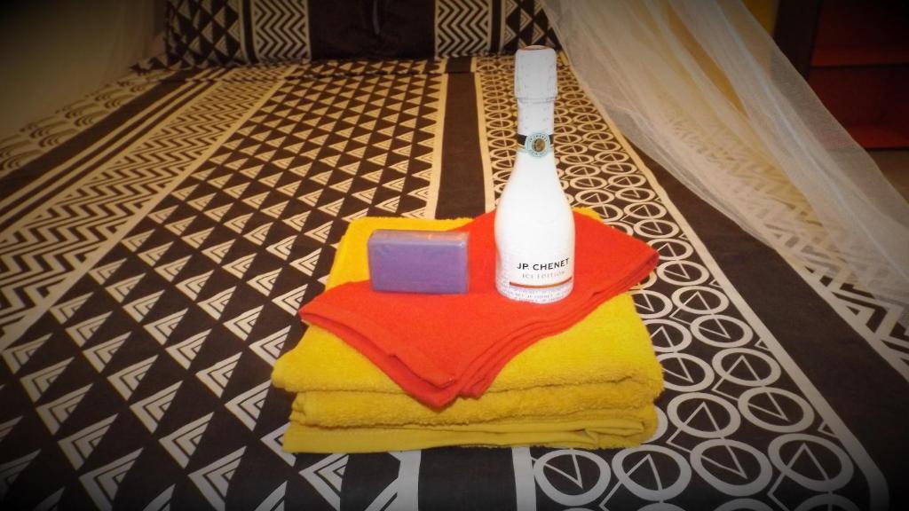 Posteľ alebo postele v izbe v ubytovaní Fleur d'épée Trinité