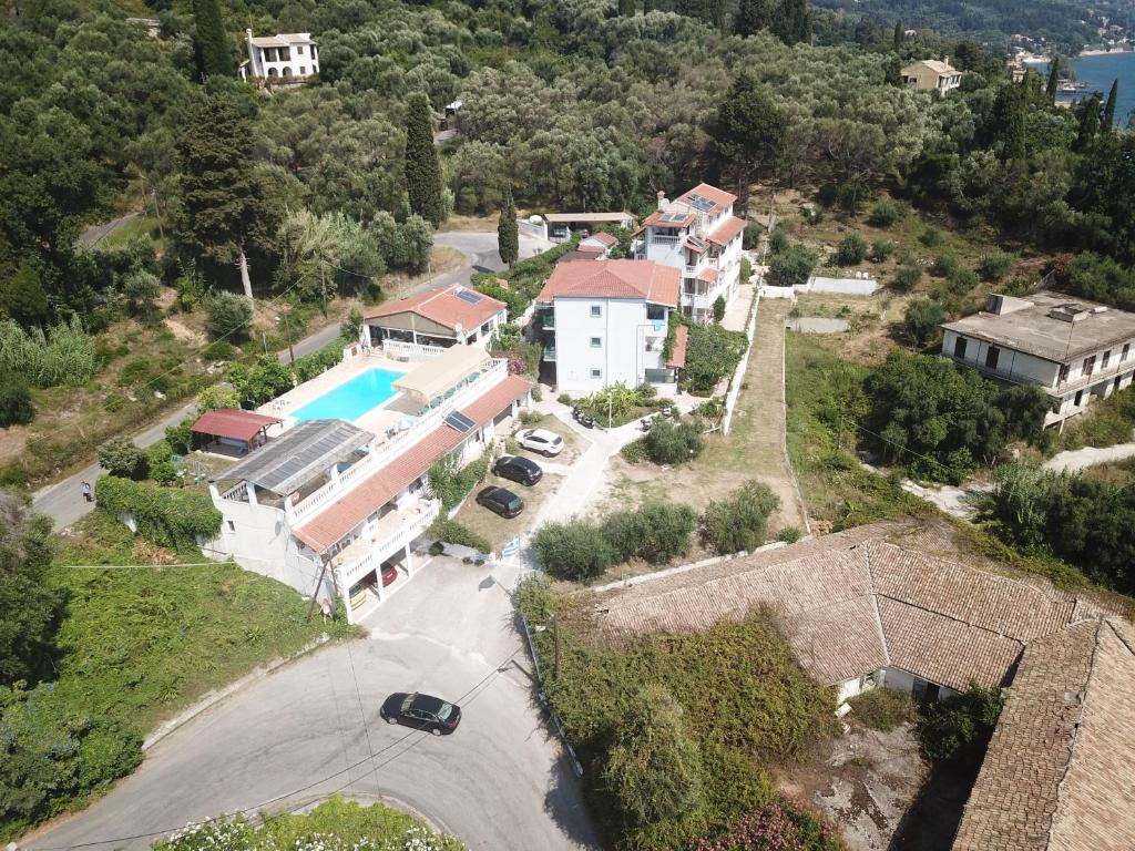 A bird's-eye view of Andromaches Holiday Apartments