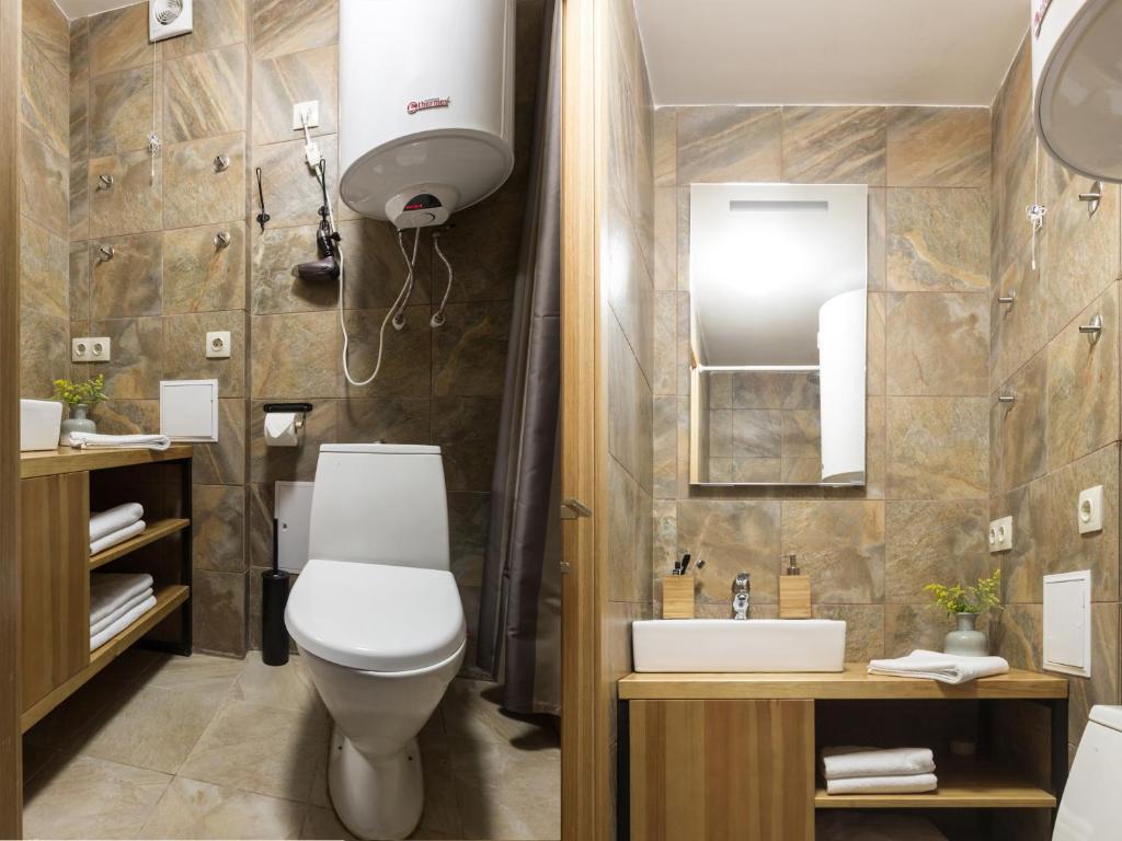 Ванная комната в Отель София