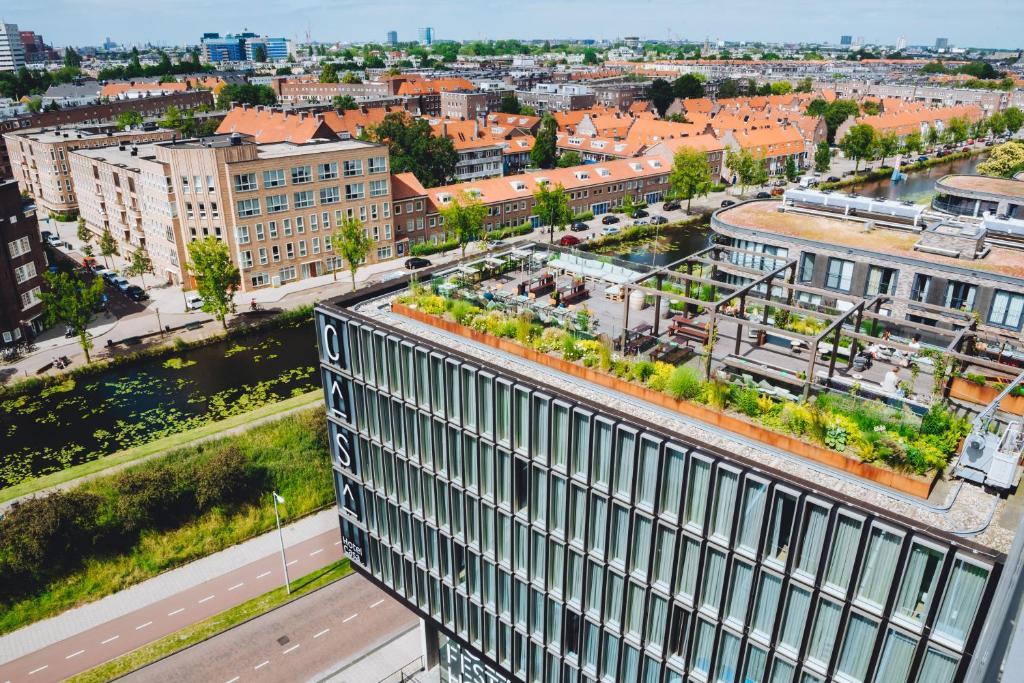Vue panoramique sur l'établissement Hotel Casa Amsterdam