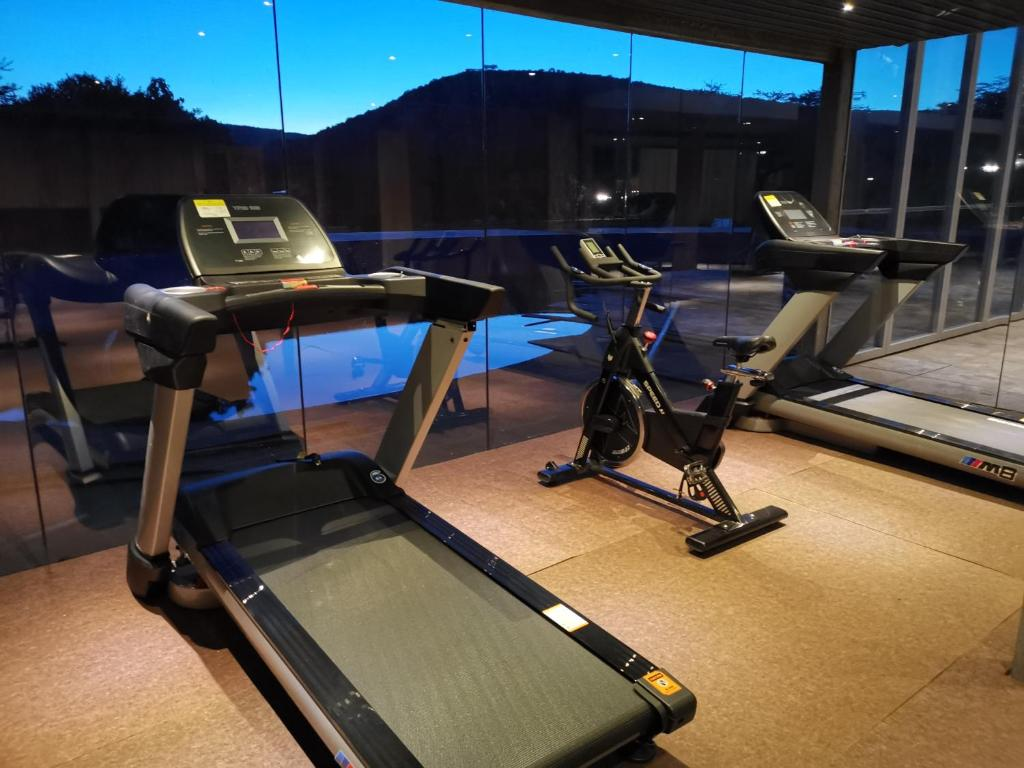The fitness centre and/or fitness facilities at Jambo Mara Safari Lodge