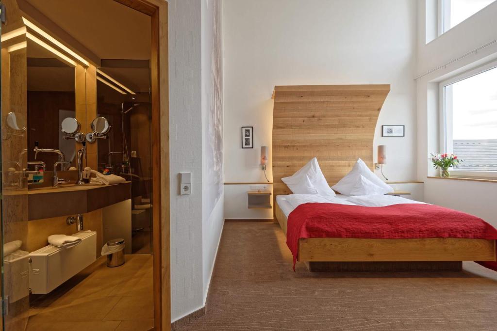 Krevet ili kreveti u jedinici u objektu Hotel zur Malzmühle