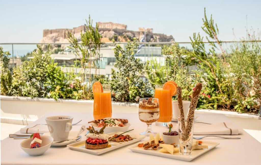 Breakfast options available to guests at Electra Hotel Athens