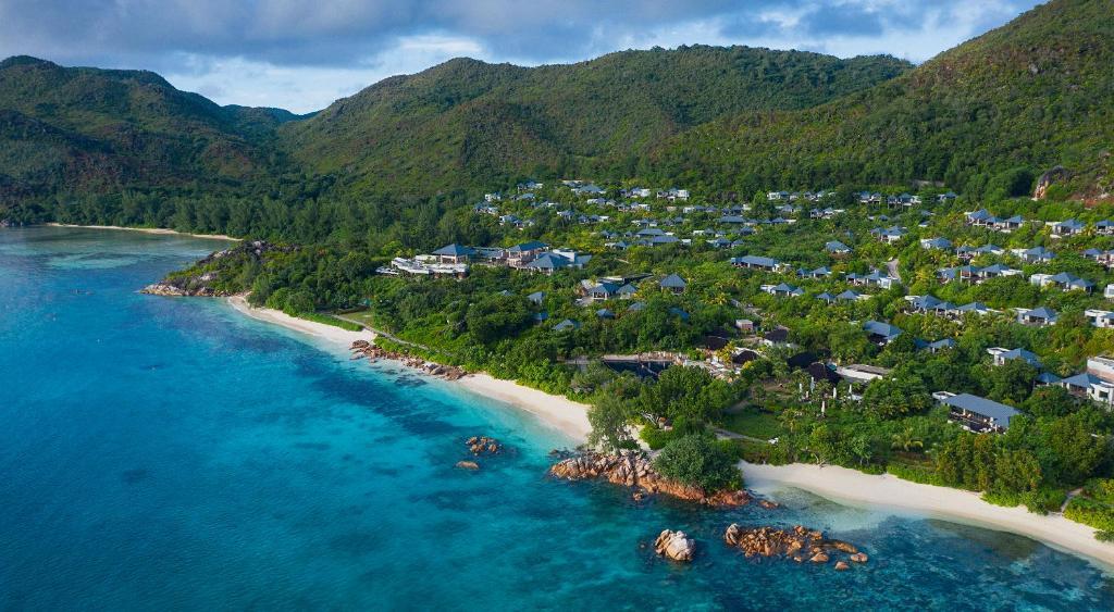 Raffles Seychelles с высоты птичьего полета