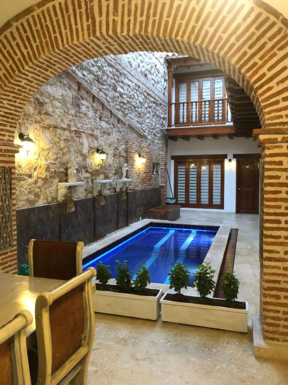 The swimming pool at or near Akel House Hotel