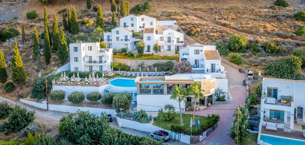 A bird's-eye view of Creta Blue Boutique Hotel