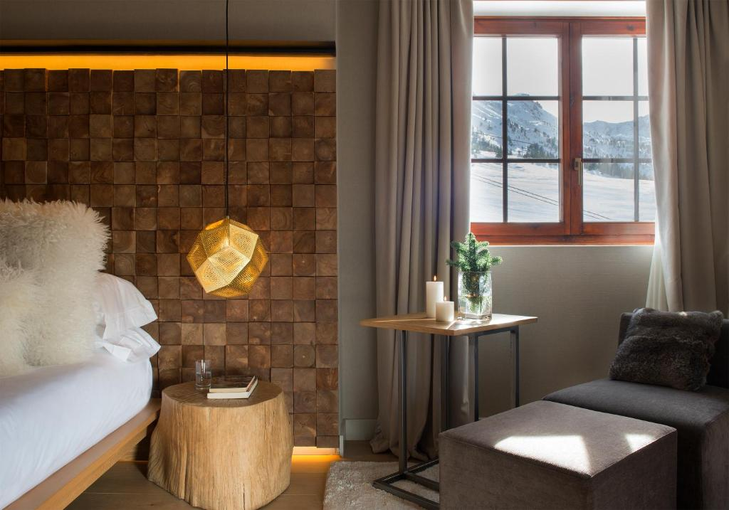 A seating area at Grau Roig Andorra Boutique Hotel & Spa