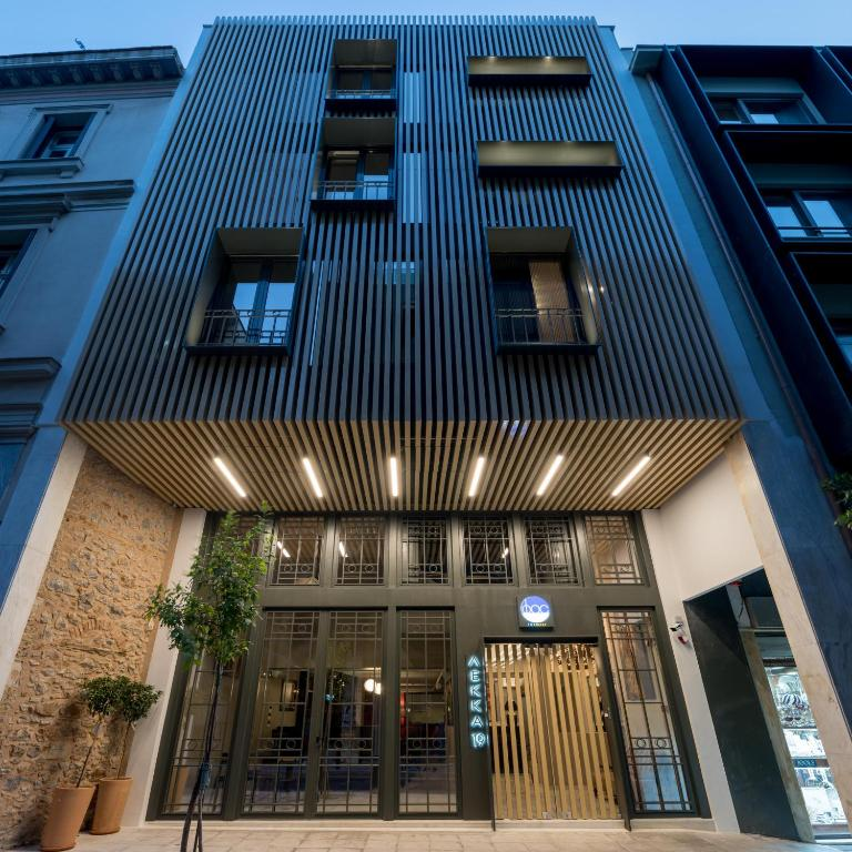 Hotel Fos Downtown Suites Athens Greece Booking Com