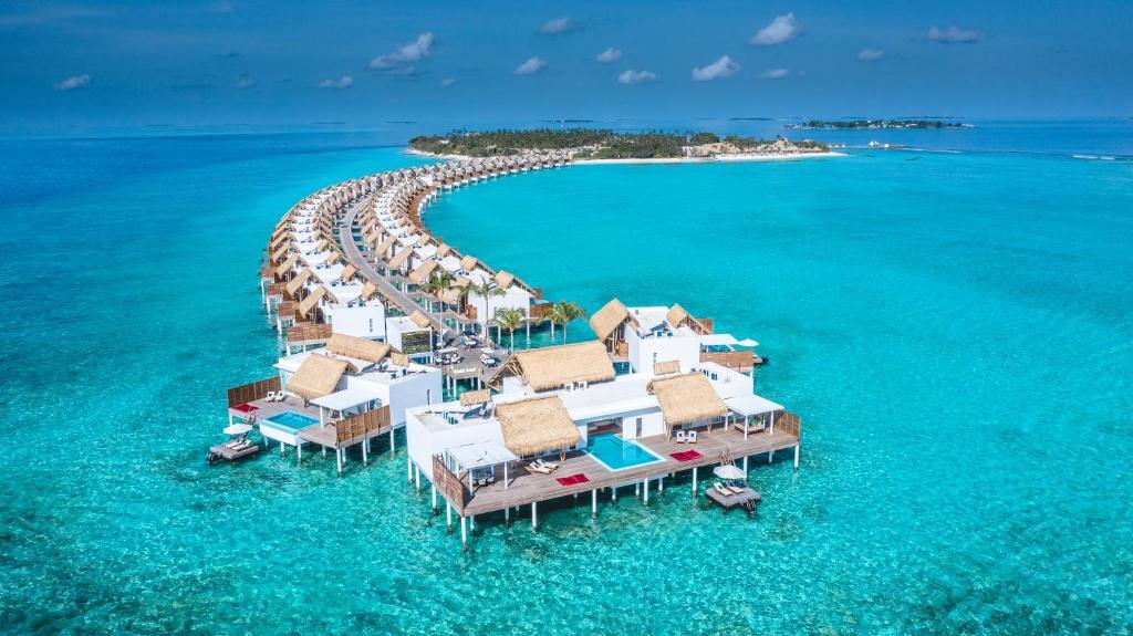 A bird's-eye view of Emerald Maldives Resort & Spa-Deluxe All Inclusive