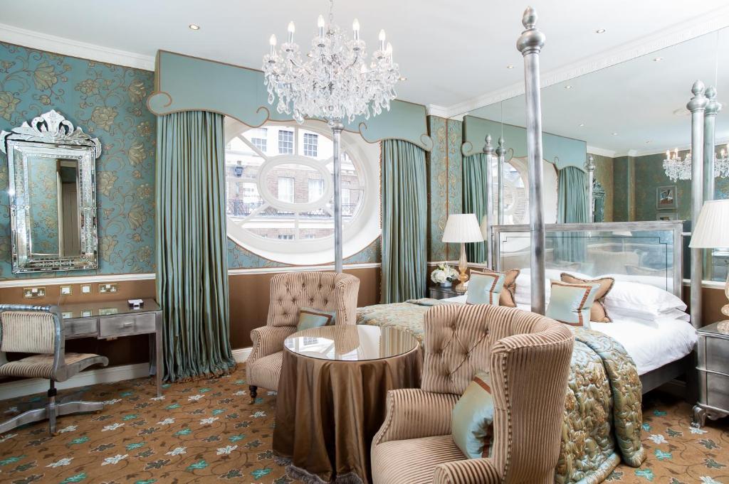 Engelse Chesterfield Bureaustoel.Hotel The Chesterfield Mayfair Verenigd Koninkrijk Londen