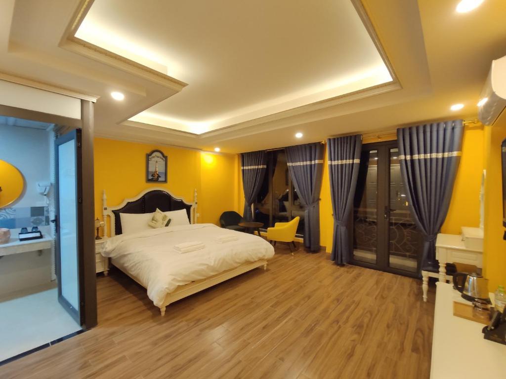 Una habitación en Bonjour Sa Pa Hotel