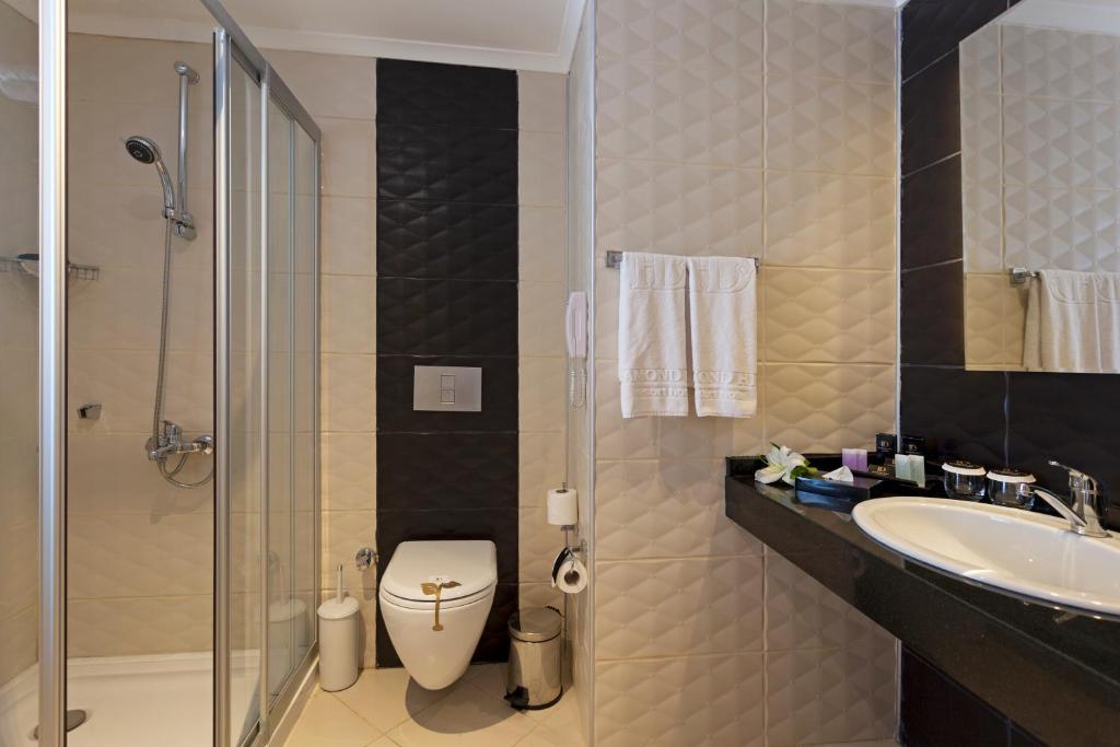 Ванная комната в Diamond Hill Resort Hotel