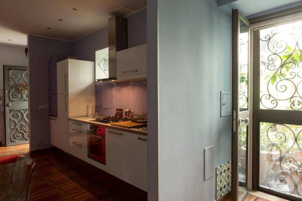 A kitchen or kitchenette at Aristovascio