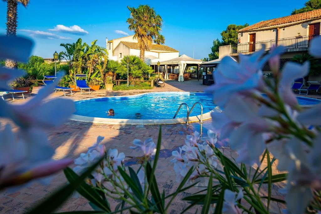 The swimming pool at or near Agriturismo Tenuta Stoccatello