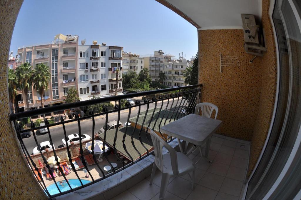 Балкон или терраса в Wasa Hotel