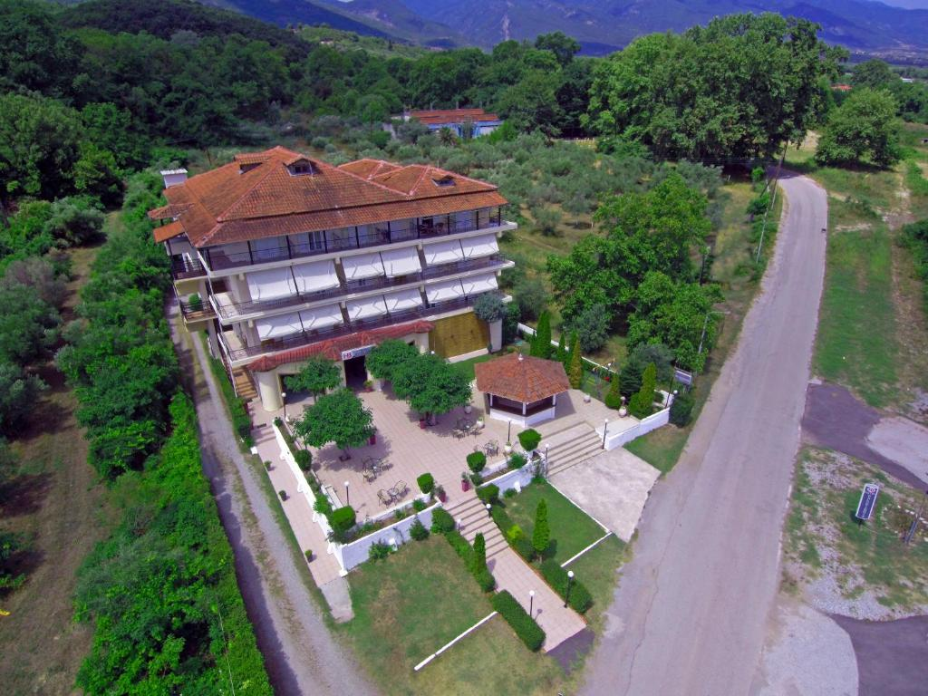 Άποψη από ψηλά του Ξενοδοχείο Μπαλογιάννης