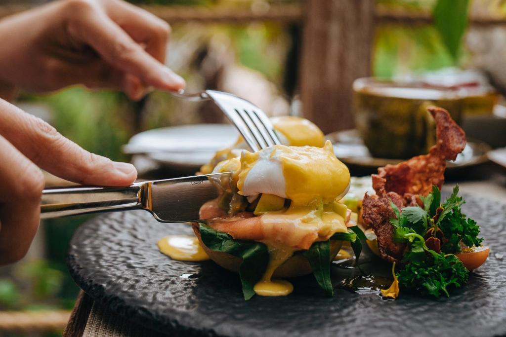 Comida en el resort o alrededores
