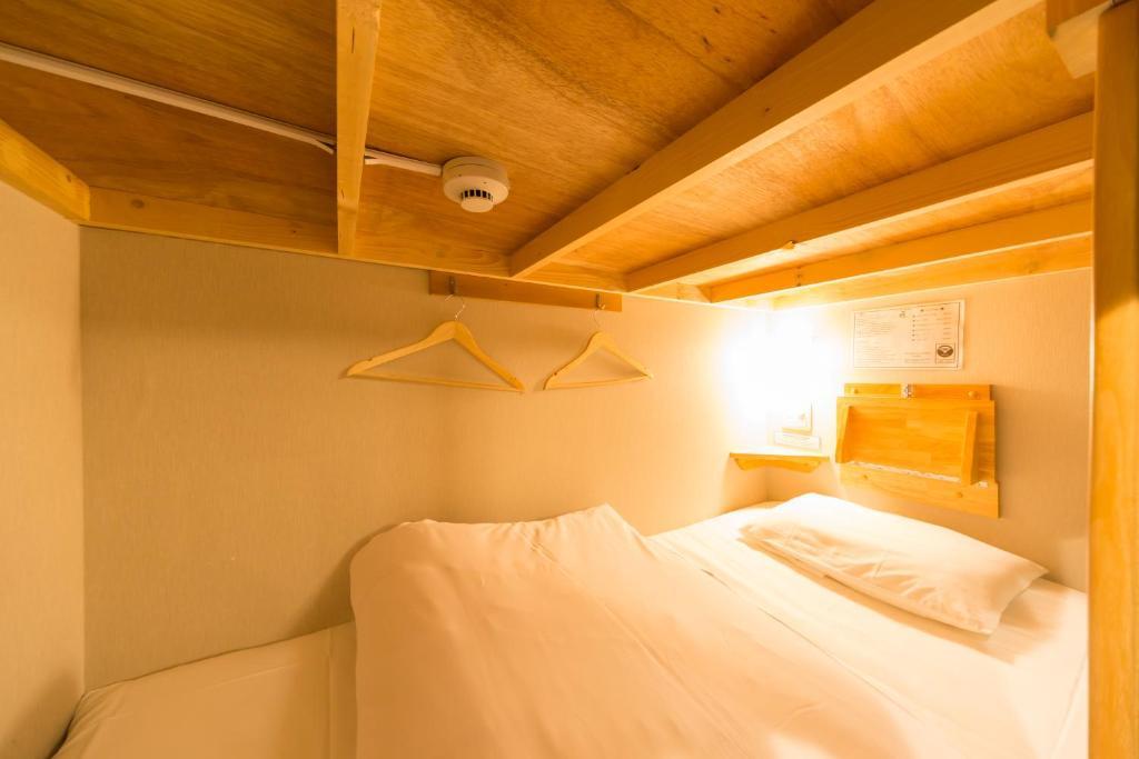 ホステルナンバ 匠にあるベッド