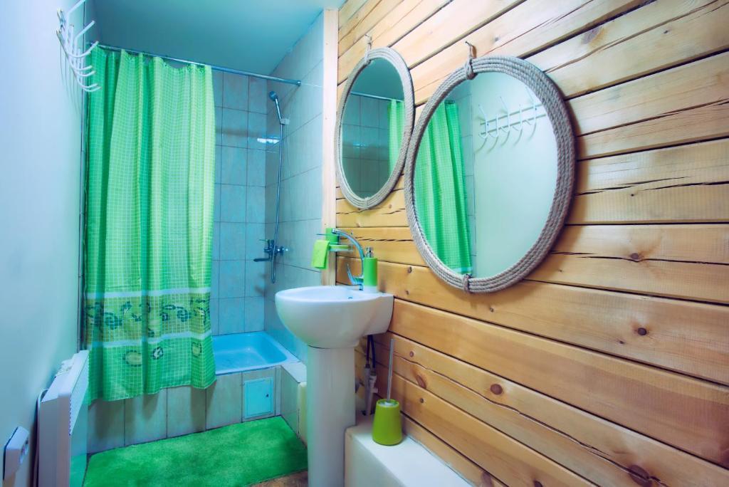 Ванная комната в Гостевой Дом Байкал Йети