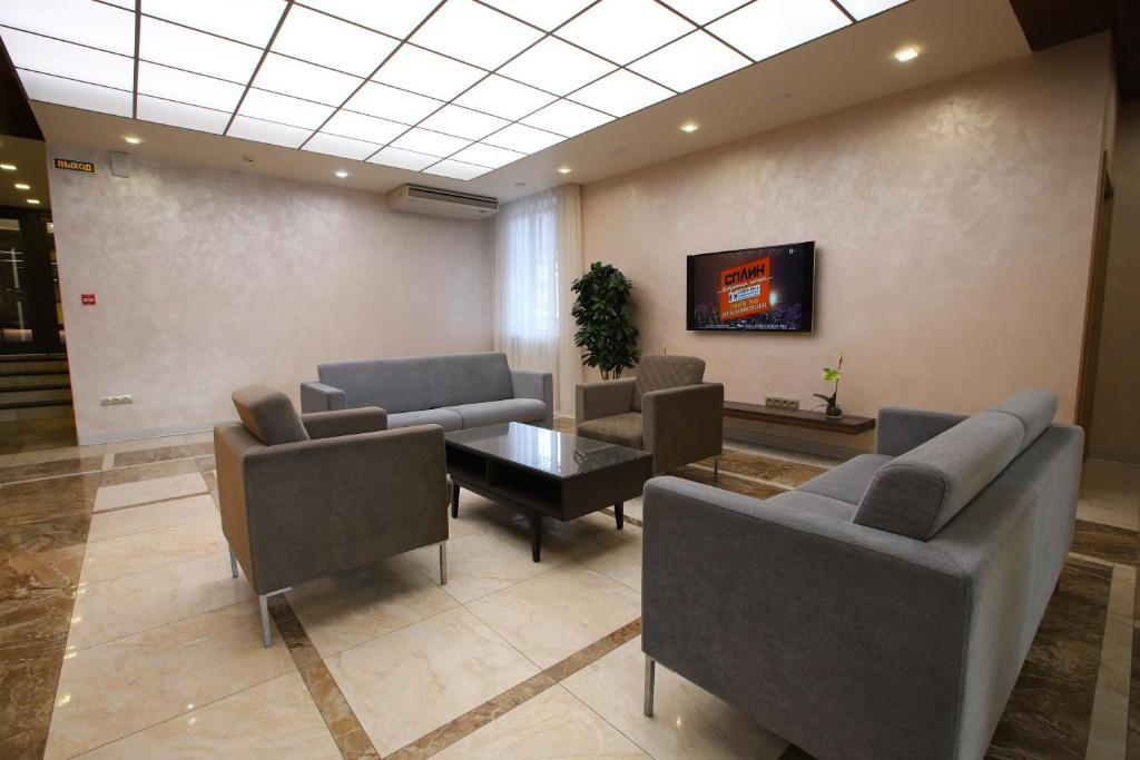 Гостиная зона в Отель Московский