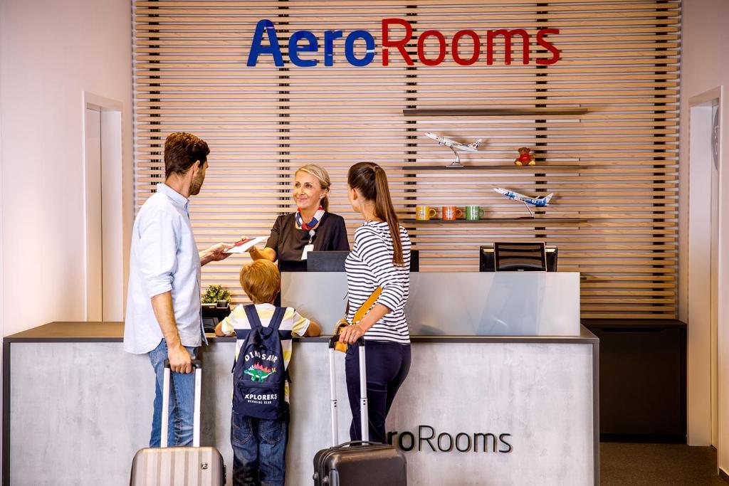 Gasten van AeroRooms