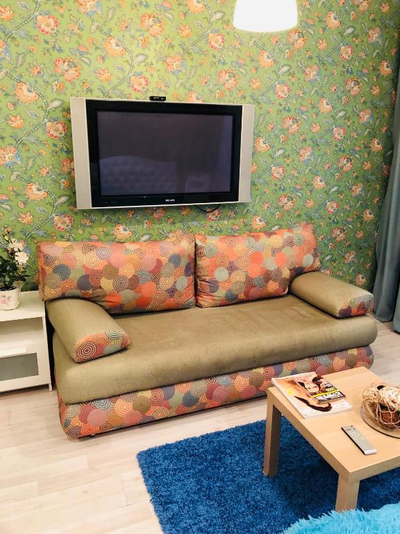 Телевизор и/или развлекательный центр в Apart Piter
