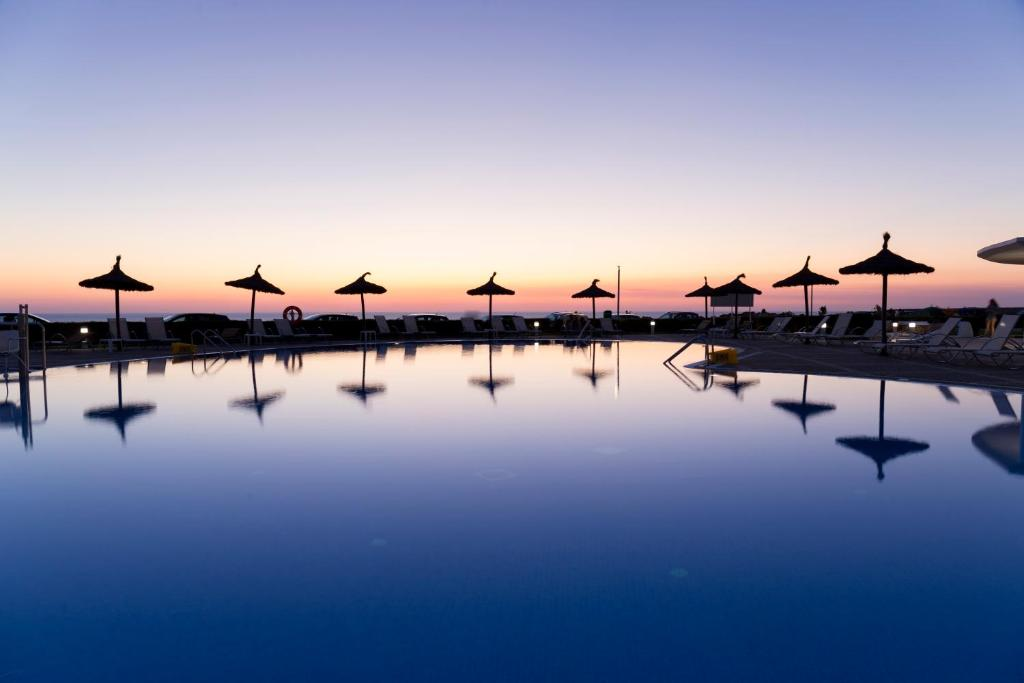 The swimming pool at or near RVHotels Sea Club Menorca