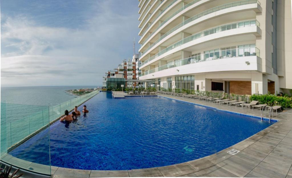 Apartamento Lujo Edificio H2 Plaza Cartagena De Indias