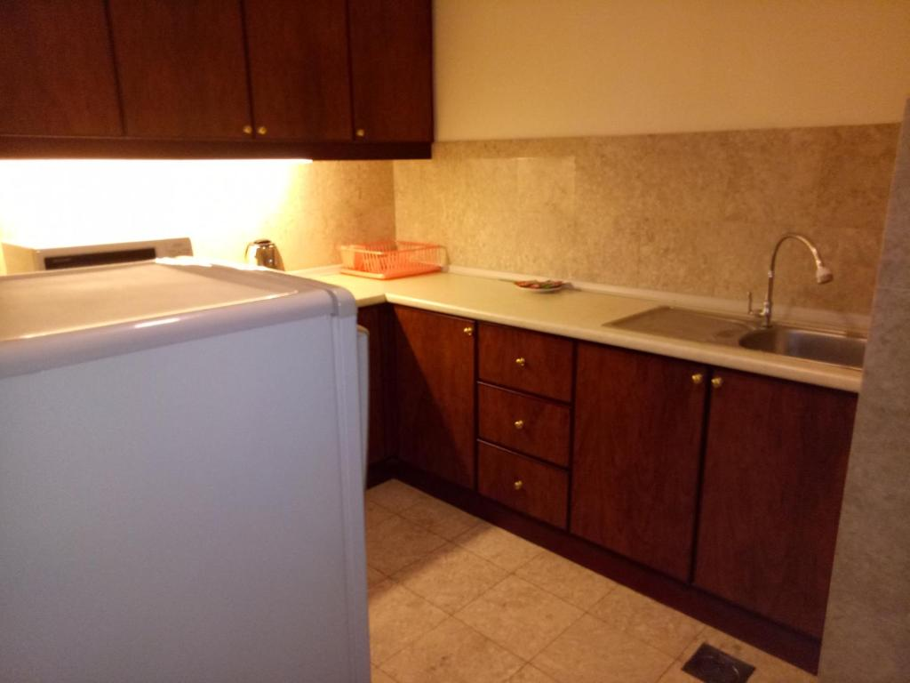 A kitchen or kitchenette at Eureka Service Suite at Times Square