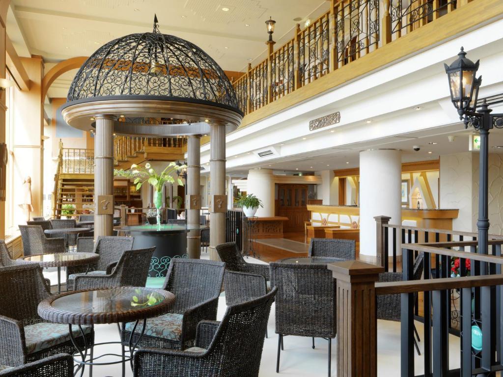 A restaurant or other place to eat at Akan No Mori Tsuruga Resort Hanayuuka