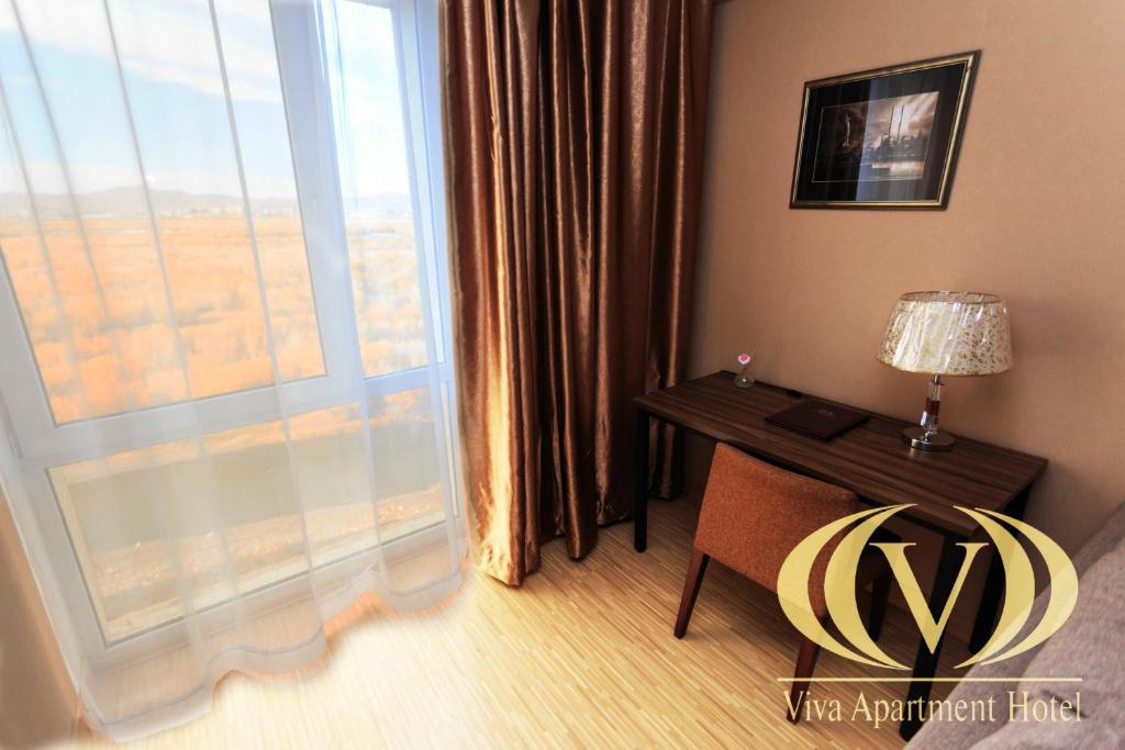 טלויזיה ו/או מרכז בידור ב-Viva Apartment Hotel