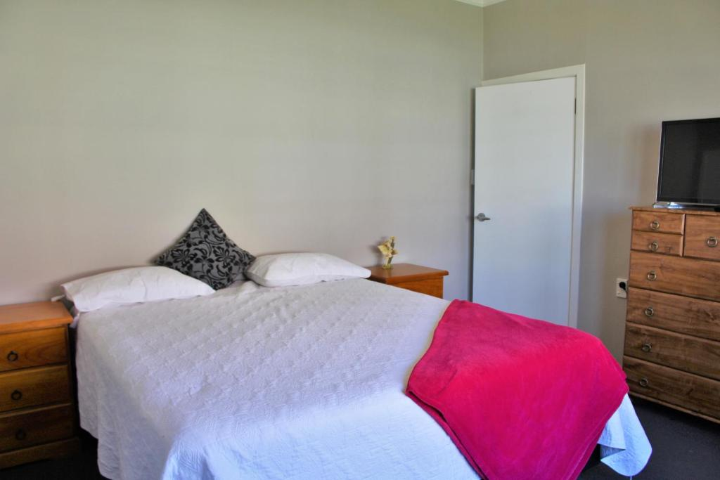 Un ou plusieurs lits dans un hébergement de l'établissement Comfy Break Away