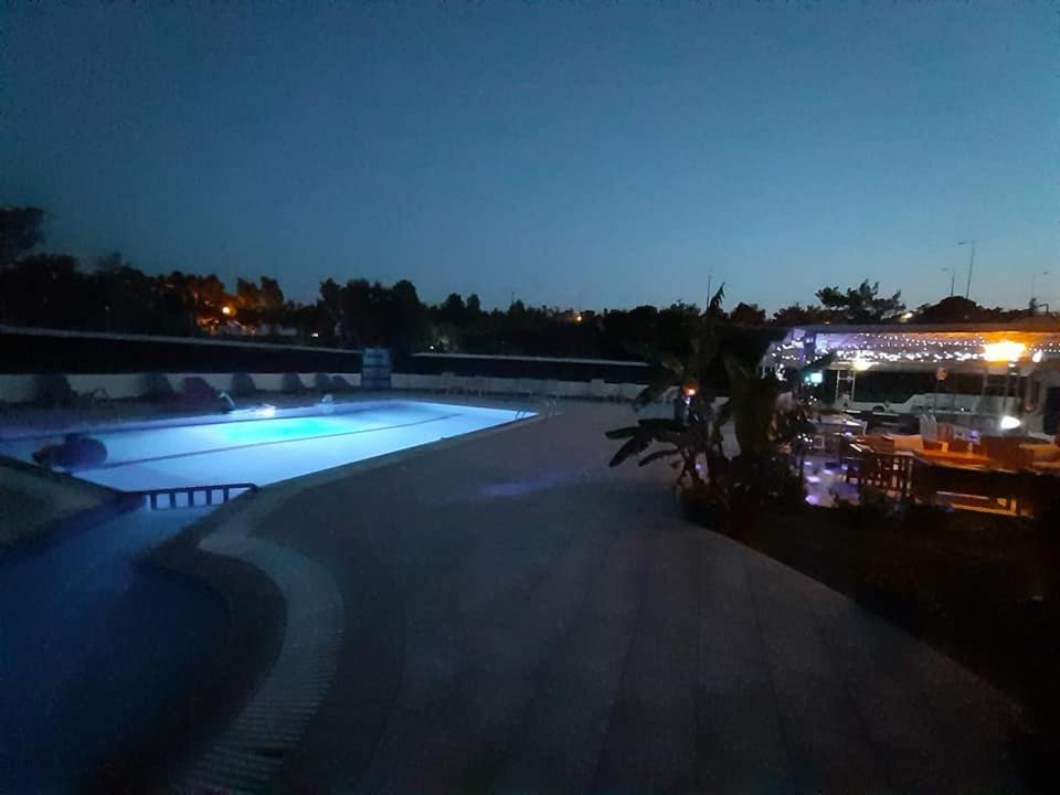 The swimming pool at or near Eleni's apartments