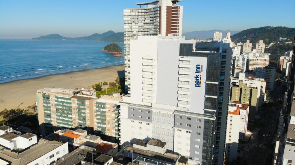 Ptičja perspektiva objekta Park Inn by Radisson Santos