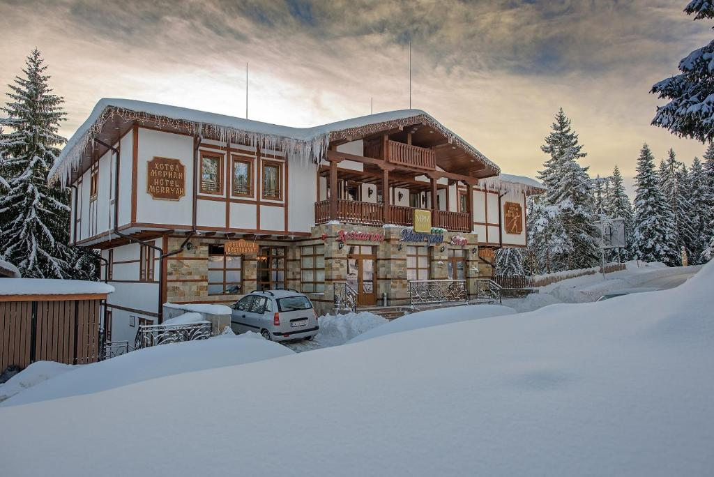 MPM Hotel Merryan during the winter